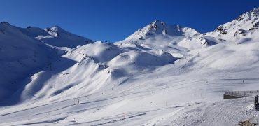 Traumhafte Bedingungen herrschen im Skigebiet Serfaus-Fiss-Ladis - hier am Masner.